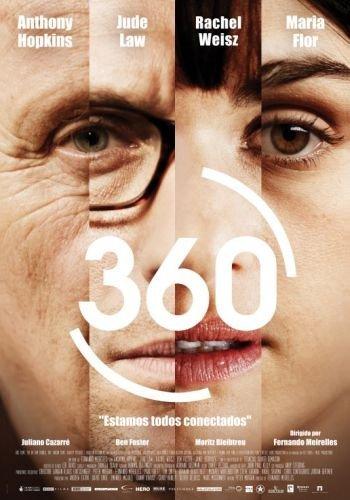 '360', tráiler y carteles de lo nuevo de Fernando Meirelles