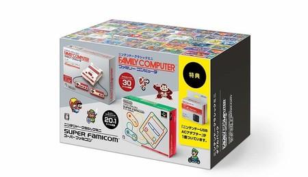 La NES Mini y la SNES Mini se venderán en un único pack en Japón a partir de septiembre