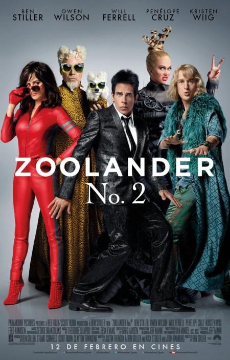 Cartel final de Zoolander 2