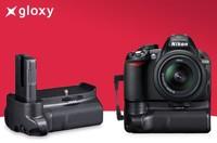 Gloxy presenta empuñaduras compatibles para réflex de Canon, Nikon y Sony
