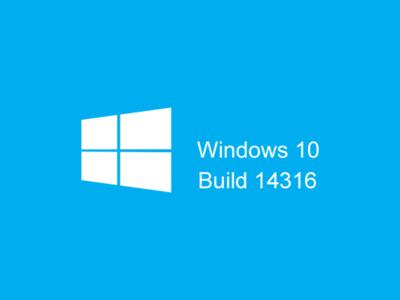La Build 14316 de Windows 10 ya está en el anillo rápido con Bash y las extensiones de Edge