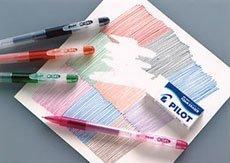 Bolígrafo que funciona como un lápiz