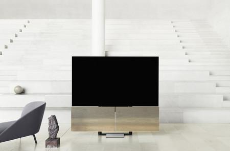 B&O Stage y Harmony: una barra de sonido de diseño y un mueble con altavoces pensado para llevar al límite la «tele» OLED C9 de LG