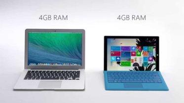 Nuevos anuncios de Surface Pro 3 siguen teniendo el Macbook Air en el punto de mira