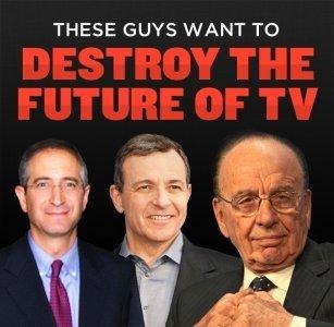 Rupert Murdoch y los amigos que quieren convertir Internet en otra TV