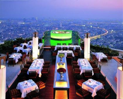 Restaurantes con vistas: Bangkok