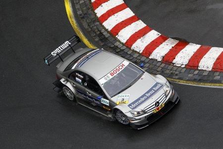La lluvia adelanta la victoria de Bruno Spengler en Norisring