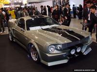 Réplica del Shelby GT500 Eleanor con sabor oriental