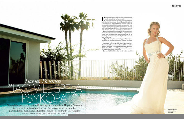 Foto de Hayden Panettiere para Elle Magazine (1/4)