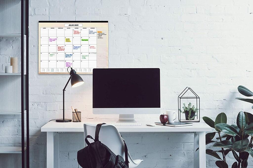 21 calendarios de pared y escritorio, de entre los más valorados y vendidos en Amazon, para 2021