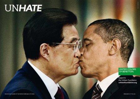 Obama China Benetton