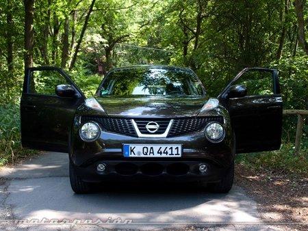 Nissan Juke, presentación y prueba en Fráncfort (parte 1)