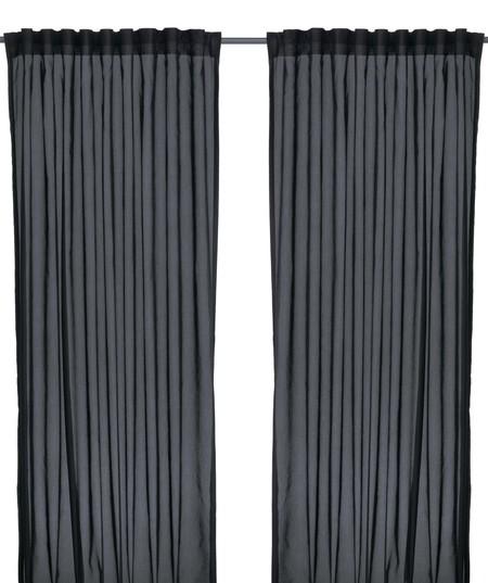 Ikea Vivan Cortina Negra Pe423034