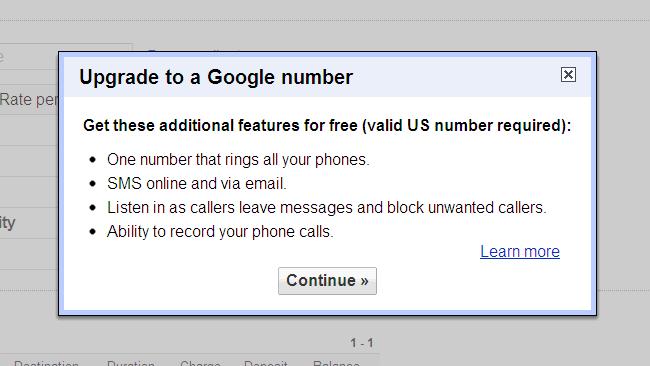Llamadas telefónicas desde GMail