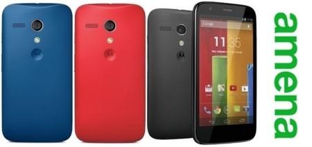 Precios Motorola Moto g con Amena y comparativa con la competencia