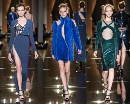 Looks Atelier Versace otoño invierno 2013 2014