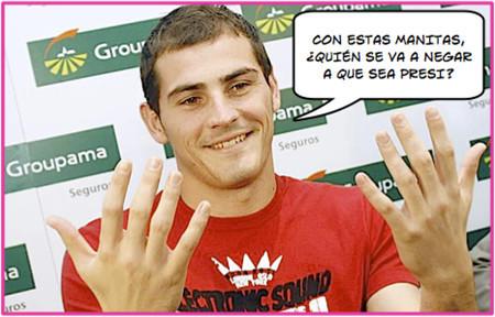Boquitas de piñón: Iker Casillas