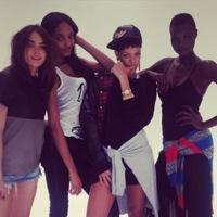 Primer look de la colección de Rihanna para River Island