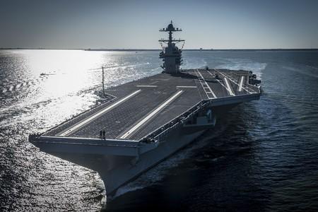 Este portaaviones ya utiliza catapultas electromagnéticas para lanzar y recuperar sus aviones