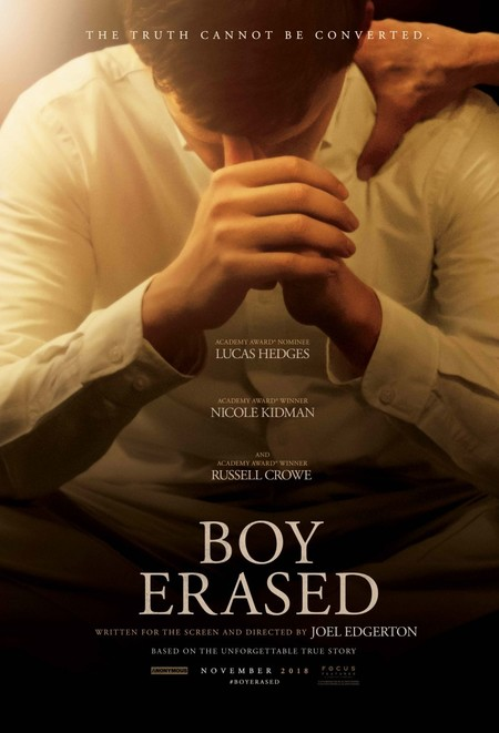 Boy Erased One Sheet