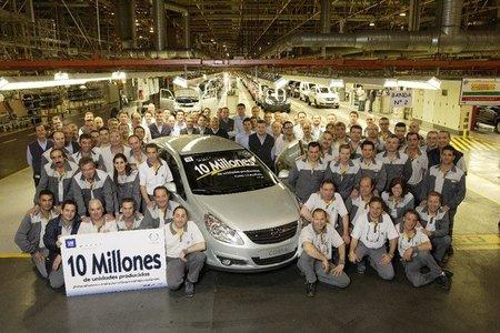 Fabrica Opel de Figueruelas (Zaragoza)