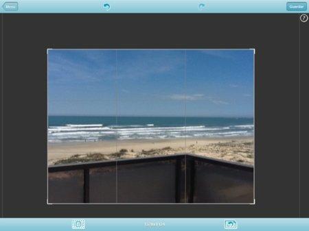Paisaje de una playa