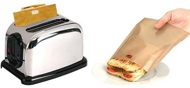 Toastabags, una bolsa para hacer sándwiches en la tostadora