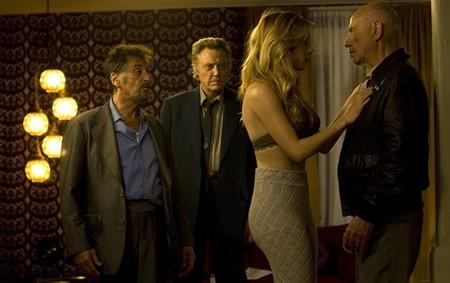 Al Pacino, Christopher Walken y Alan Arkin en