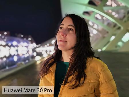 Huawei Mate 30 Pro Retrato Noche