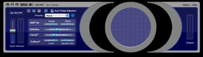 SRS iWow para iPod, y software para Mac y PC