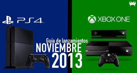 Guía de lanzamientos: noviembre de 2013