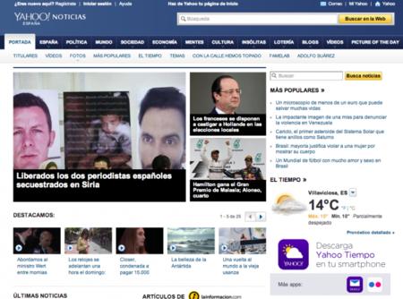 """Yahoo, sobre el canon AEDE: """"Yahoo Noticias no es un agregador"""""""