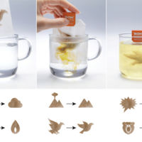 Bolsas de té que se transforman para tranquilizarlos