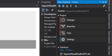 Vs2015 With Git And Visual Studio Online