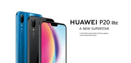 Huawei P20 Lite rebajado en el 11-11 de eBay: 229 euros y envío gratis