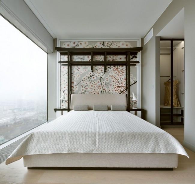 13 innovadores y envidiables respaldos de cama goplaceit - Cabecero cama pintado ...
