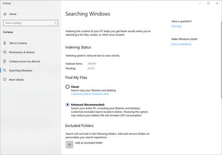 Mejor Busqueda Windows 10