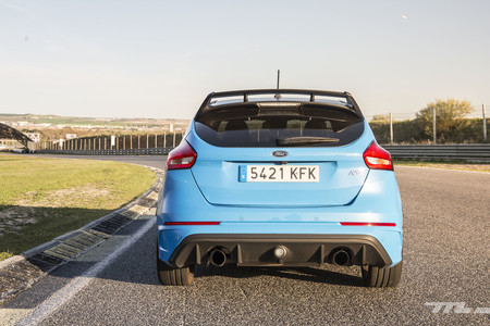 Ford Focus RS Performance trasera