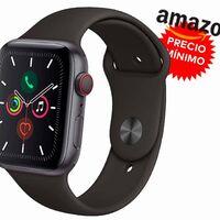 Nunca había sido tan barato: Amazon te deja el Apple Watch Series 5 GPS+Celular de 44mm en 399 euros por el Black Friday, con más de 100 euros de rebaja