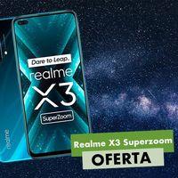 El Realme X3 Superzoom es un auténtico chollazo hoy, en Amazon: lo tienes a su precio más bajo hasta el momento, por 79 euros menos