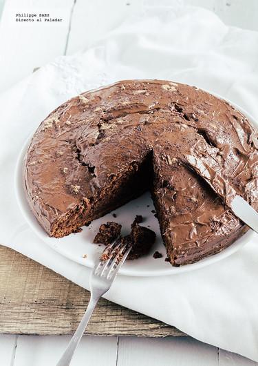 Pastel de chocolate con Nutella. Receta