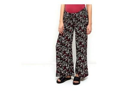 Pantalones Premama Flores