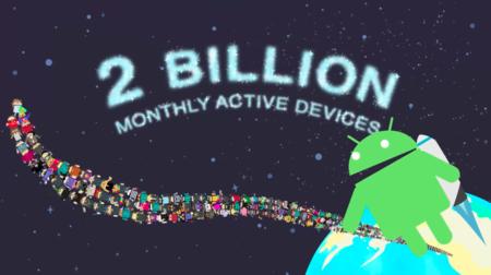 Android no para de crecer y supera los 2.000 millones de usuarios