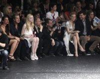 Derroche de celebrities y glamour en el front-row de Chanel