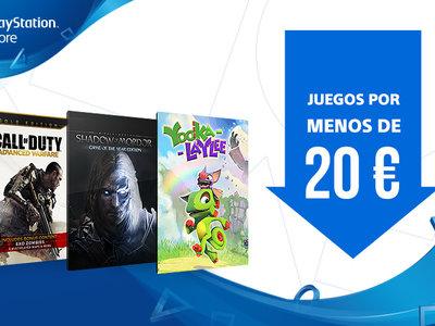 PlayStation Store pone de oferta decenas de videojuegos de PS4 por debajo de 20 euros