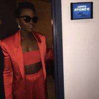 Look cítrico y de tendencia de Lupita Nyong'o ¡un 10!