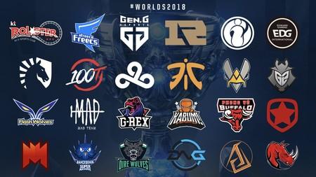 Conoce a los 24 equipos clasificados para los Worlds 2018 de League of  Legends 7896e4ecf0f55