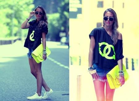 El poder del logo de Chanel en las camisetas de algodón