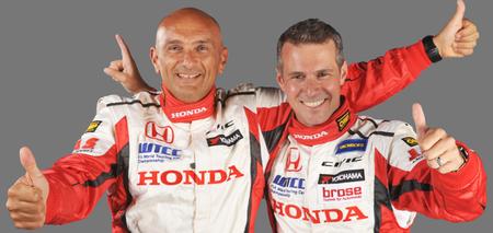 Honda anuncia el fichaje de Gabriele Tarquini y Tiago Monteiro