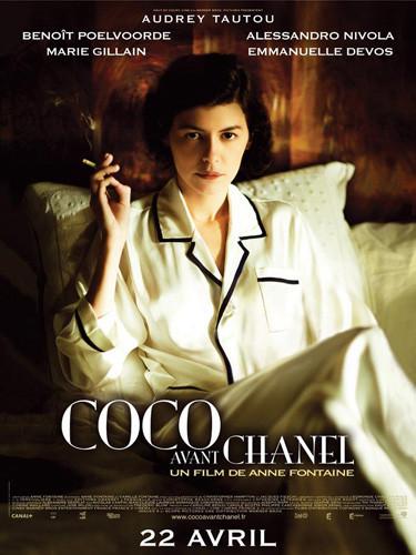 Se censura el cartel de la película de Coco Chanel